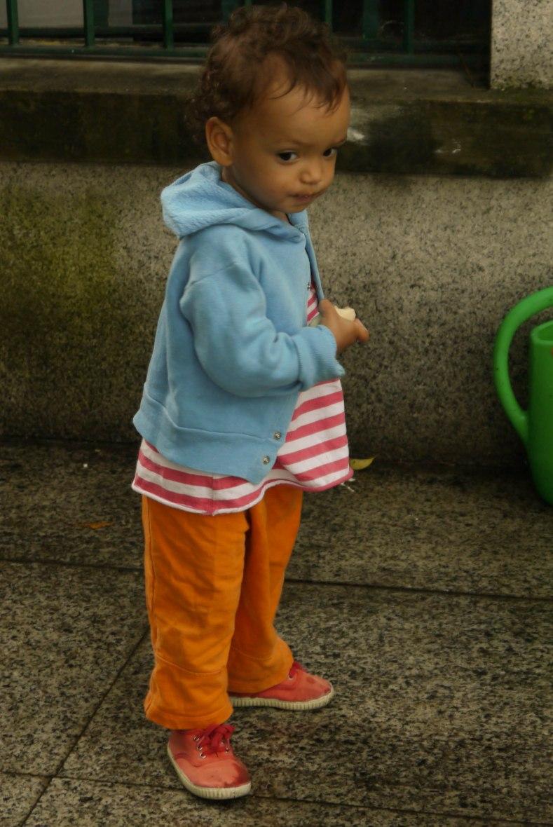 Little Naima always ready to explore