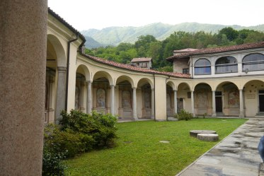 The courtyard of the Chapel