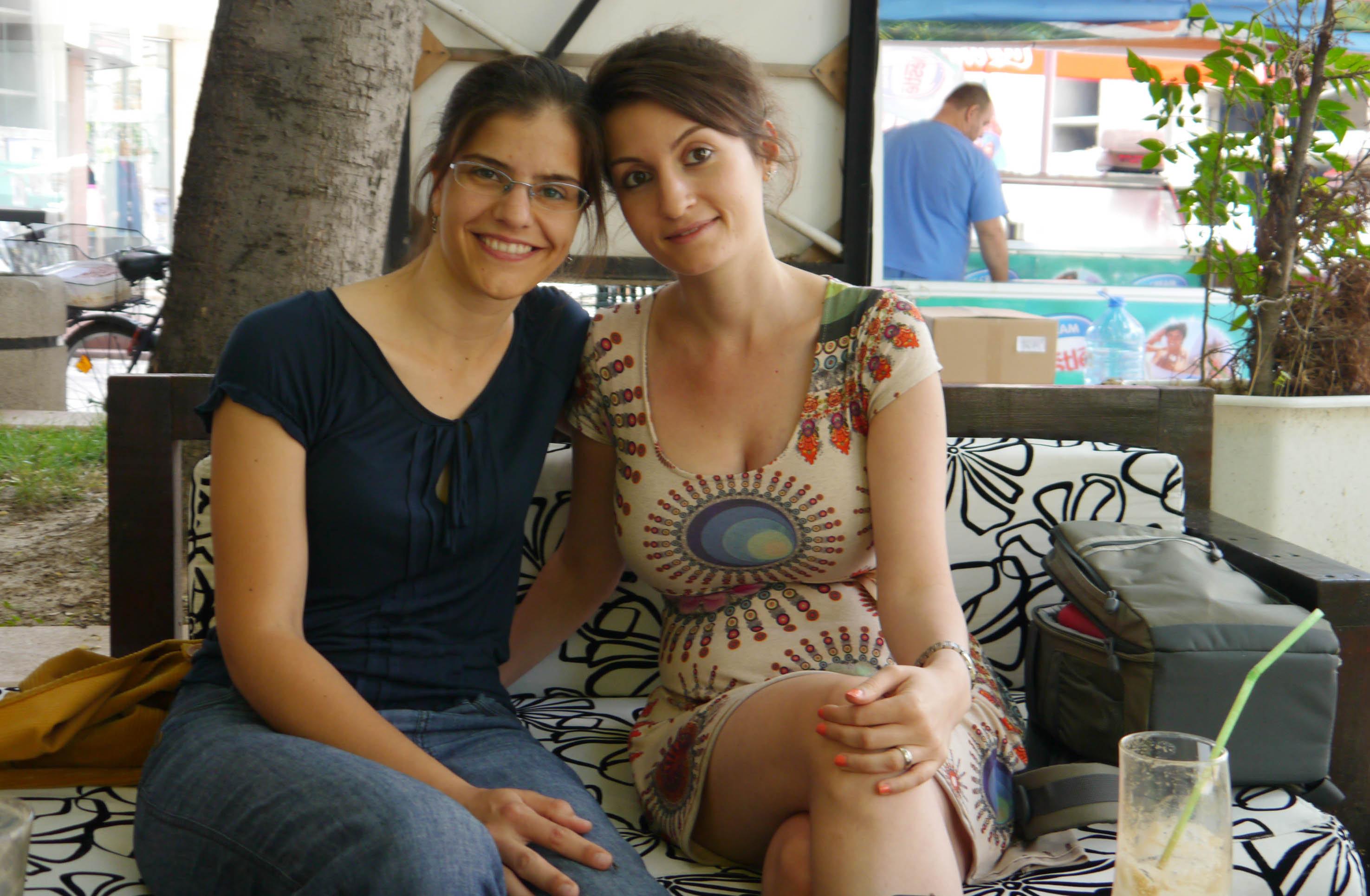 Visha and I
