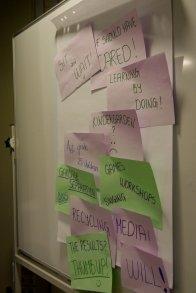 notes, inspiration, seminar