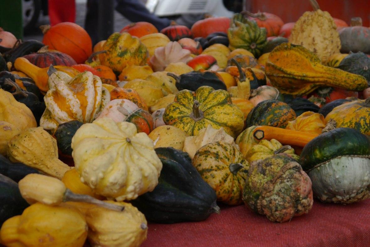 mantova, pumpkins, market