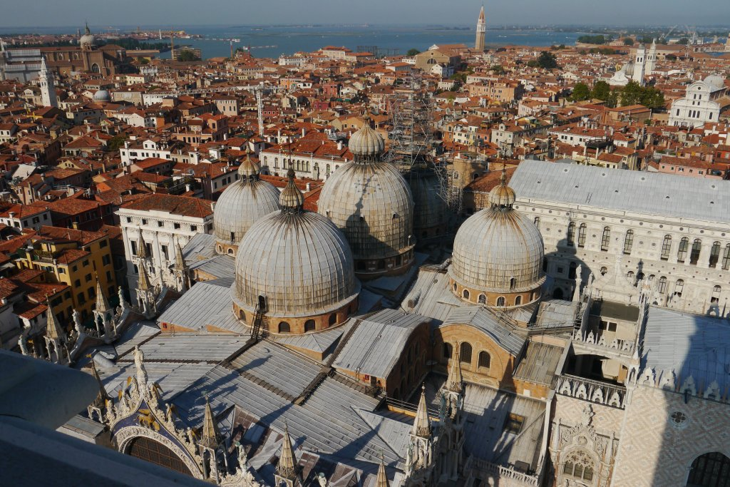 Venice from above back in 2012