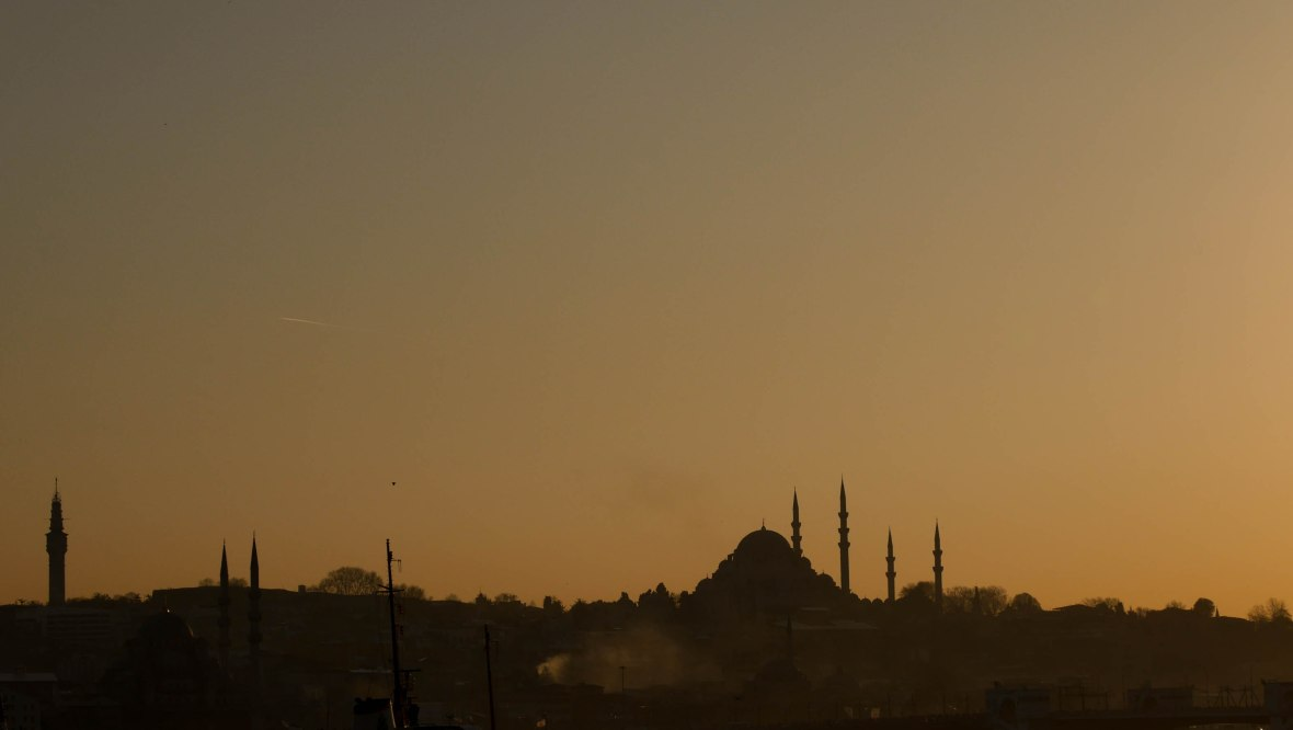 Istanbul by sunset
