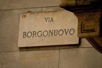 Via Borgonuovo, Milano