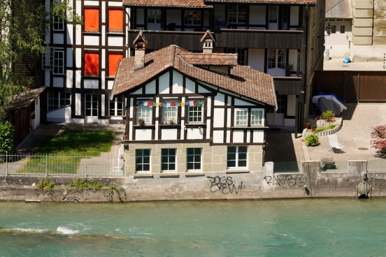A view from the Bear Park in Bern