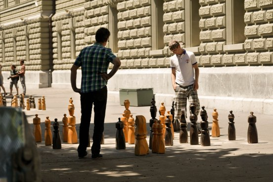 Bundestag chess, Bern