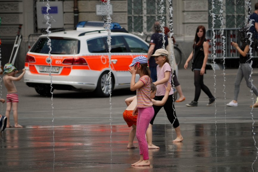 Water games, Bern