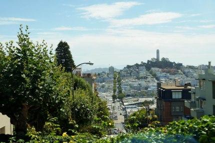 Lombard street top