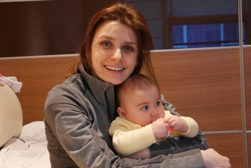 Deni with beautiful Nikol
