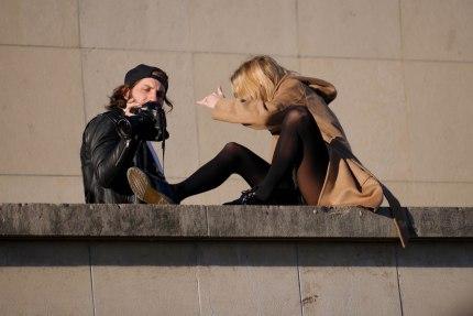 People in Paris
