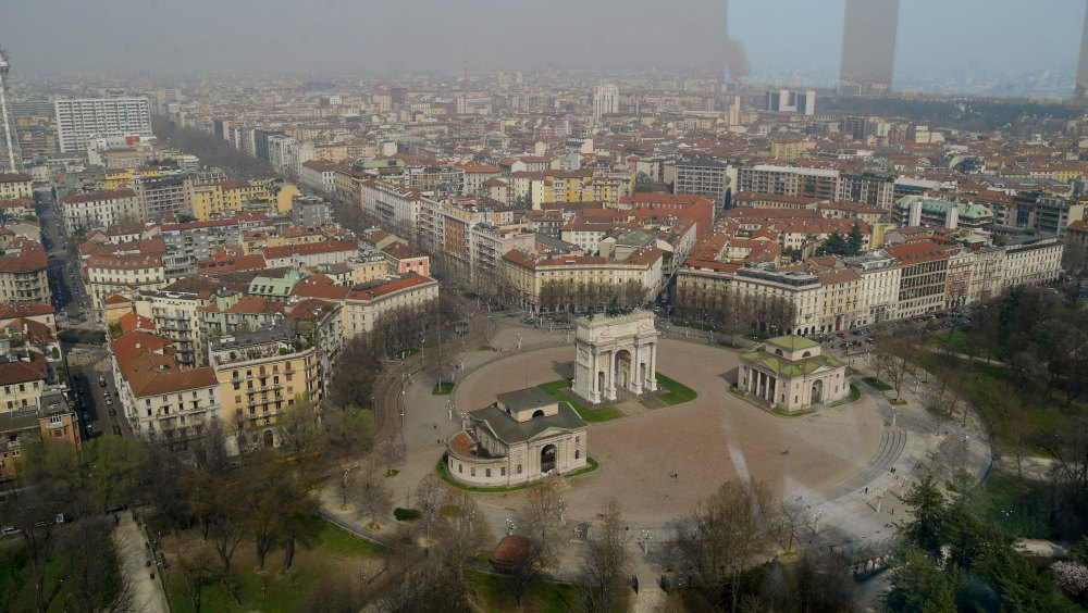 View from Torre Branca