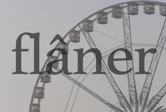 flâner
