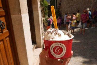 Best gelateria in Valldemossa