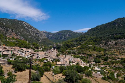 View towards Valldemossa