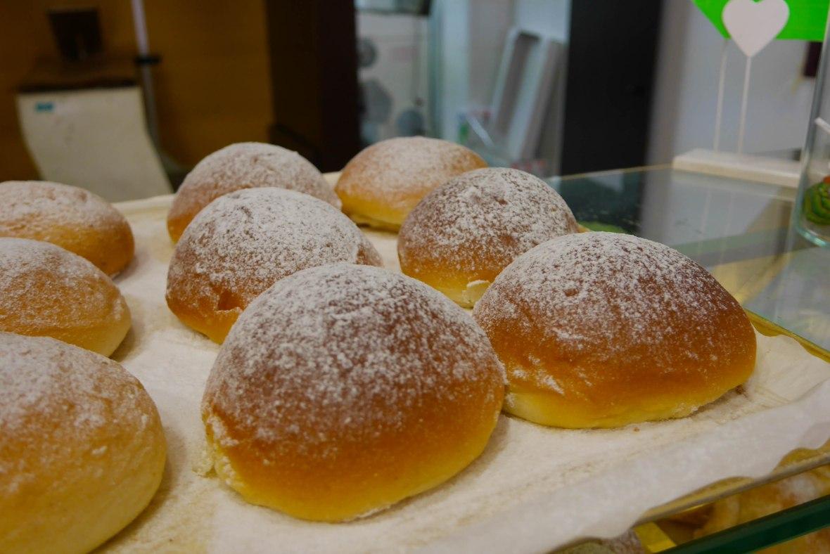Typical coca bread in Valldemossa