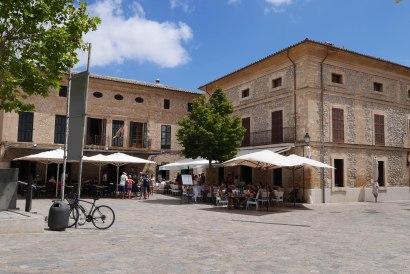 The center of Pollença