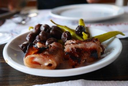 Es Reco des Moll, dates with bacon