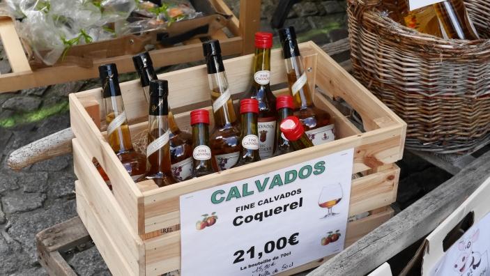 Local production of the liquor Calvados