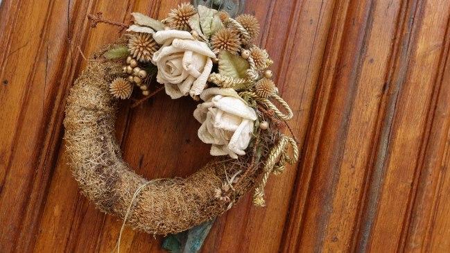 Christmas wreath, Viareggio